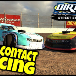 Full Contact Racing - iRacing DIRTcar Street Stock Series - USA International Speedway Dirt - VR
