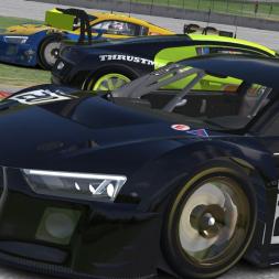 iRacing GT3 Audi R8 at Road America in Blancpain Sprint Series iRacing