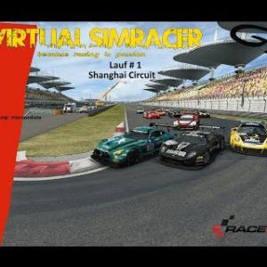 RaceRoom GT3 - Lauf # 1 Shanghai Circuit
