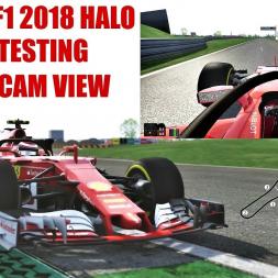 2018 Ferrari F1 Halo Onboard Testing at Fiorano (Offset T-CAM) - Assetto Corsa (Mod Download)