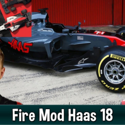 Motorsport Manager Fire Mod - Haas F1 The American Dream 18