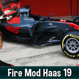 Motorsport Manager Fire Mod - Haas F1 The American Dream 19