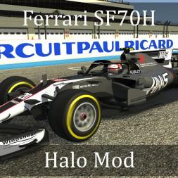 Assetto Corsa: Ferrari SF70H Halo Mod (VR)