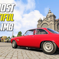 The MOST BEAUTIFUL Hillclimb for Assetto Corsa - St. Luzia's Ramp