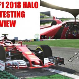 2018 Ferrari F1 Halo Onboard Testing at Fiorano (Drivers Eye) - Assetto Corsa (Mod Download)
