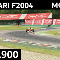 Ferrari F2004 @Monza   1:21.900   Assetto Corsa