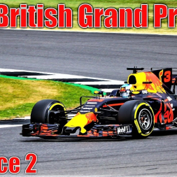 2017 Formula 1 British Grand Prix - Practice 2 Highlights (All Cars)
