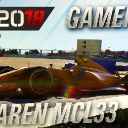 F1 2018 McLaren MCL33 Alonso Gameplay