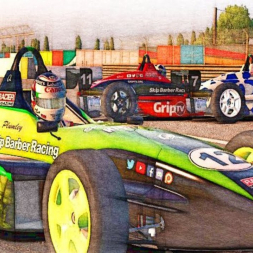 Will they wreck? iRacing Skip Barber at Montreal