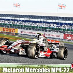 McLaren Mercedes MP4-22 (2007)(VRC) Testing at Silverstone - Assetto Corsa