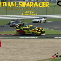 RaceRoom GT3 - Lauf # 2 Suzuka Circuit