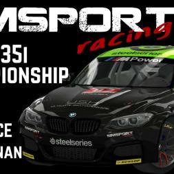 BMW 235i Championship - TEST RACE - Tor Poznan   Assetto Corsa