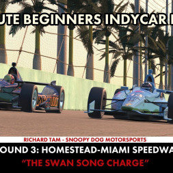 """""""iRacing: The Swan Song Charge"""" (ABIL Round 3- Homestead)"""