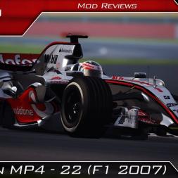 McLaren MP4-22 MOD Review | Assetto Corsa | #159