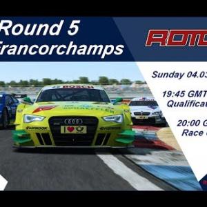RaceRoom | RDTCC Round 5 Spa