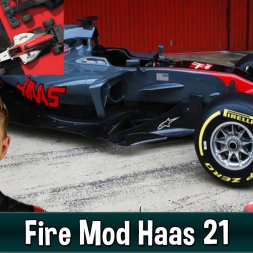 Motorsport Manager Fire Mod - Haas F1 The American Dream 21