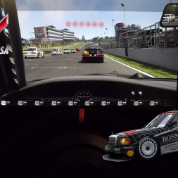 ASSETTO CORSA - DTM 1992 - Onboard - TRIPLE SCREEN | T300 + th8a