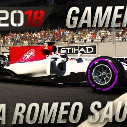 F1 2018 Alfa Romeo Sauber Gameplay