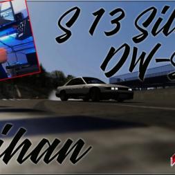 Silvia S13 DW-Spec @ Meihan Sportsland w/ Setup view