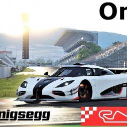 Koenigsegg One:1 HOTLAP at Circuit de Barcelona Catalunya - Assetto Corsa (Mod Download)