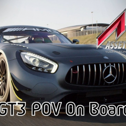 Assetto Corsa - MERCEDES AMG GT3 @ Silverstone | POV onboard