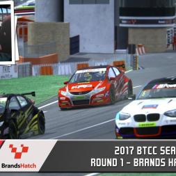 BTCC 2017 Season - Round 1: Brands Hatch Indy