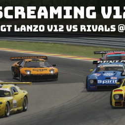 Assetto Corsa - RSS GT Lanzo 'Scream R-GT' Race @ Spa