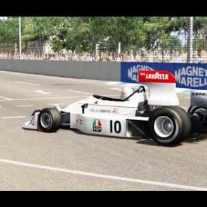 F1 1975 Sim dream vs Bazza 1 on 1 F1 March