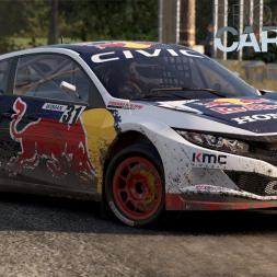 Honda Civic Coupé GRC @DirtFish Boneyard Course - Project Cars 2