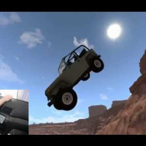 BeamNG Drive: Tackling a very hard Offroad Challenge!