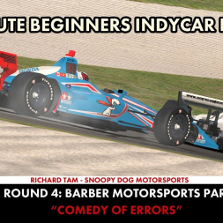 """""""iRacing: Comedy of Errors"""" (ABIL Round 4 - Barber)"""