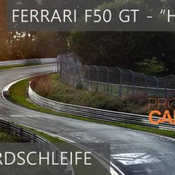 Nordschleife Hotlap #1 - Ferrari F50 GT - Project CARS 2 + Wheel cam