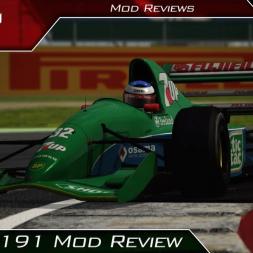 Jordan 191 F1 MOD Review | Assetto Corsa | #160