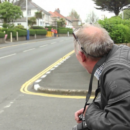 A dad's reaction to racers - Isle Of Man TT 2014