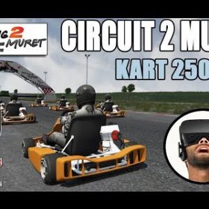 ✅ Course virtuelle au CIRCUIT2MURET [vidéo VR Oculus Rift]