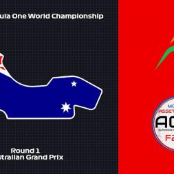 Assetto Corsa: 2018 F1WC // Rd. 1 - Australian Grand Prix