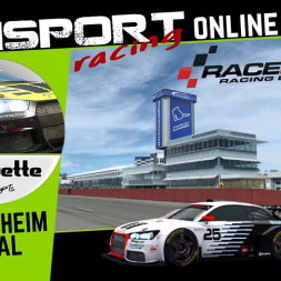 Simsport Racing Monday Night RaceRoom - Silouette Series @ Hockenheim