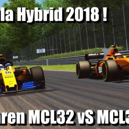 Assetto Corsa - RSS Formula Hybrid 2018 - McLaren MCL32 vS MCL33