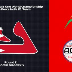 Assetto Corsa: 2018 F1WC // Rd. 2 - Bahrain Grand Prix