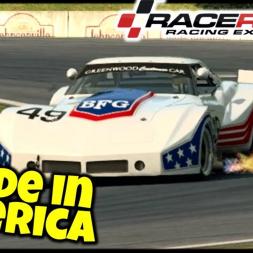 Made In America - Chevrolet Corvette Greenwood - Raceroom Racing Experience - VR