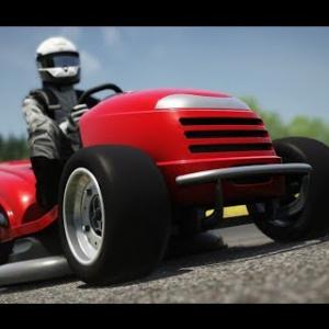 Assetto Mods: Honda Lawnmower on Laguna Seca!