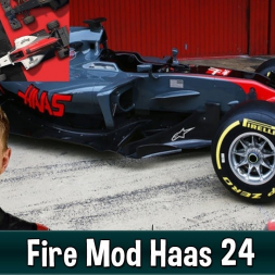 Motorsport Manager Fire Mod - Haas F1 The American Dream 24
