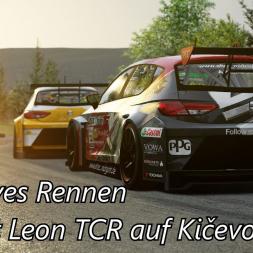Sehr intensives Rennen im Seat Leon TCR auf Kičevo - Assetto Corsa (1.16.3) - Let's Play