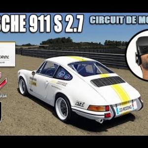 Porsche 911S 2.7L sur le circuit de Monteils [vidéo VR - Oculus Rift]