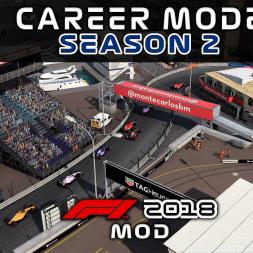 F1 2018 mod Career - Round 6: Monaco - NOT GOOD (ON PAPER)