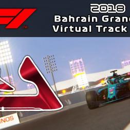 F1 2018 Bahrain Grand Prix | Virtual Track Guide | Sakhir, Bahrain | ACFL 2018