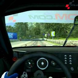 RRRE - Zakspeed Capri goes RaceRoom Hillclimb Full Run - HD