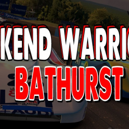 iRacing Weekend Warrior SRF League Race - Round 4 at Bathurst Mount Panorama