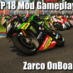 MotoGP 18 Mod - Zarco OnBoard At Termas de Río Hondo ARGENTINA 4k