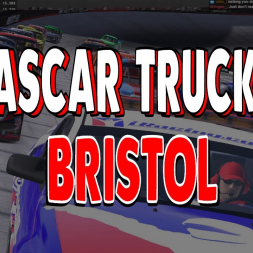 iRacing First Ever race at Bristol in the Trucks
